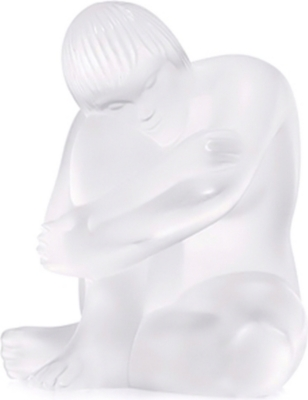 LALIQUE Nude crystal figurine