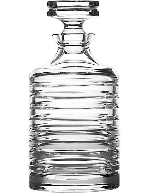 RALPH LAUREN HOME: Metropolis beveled decanter