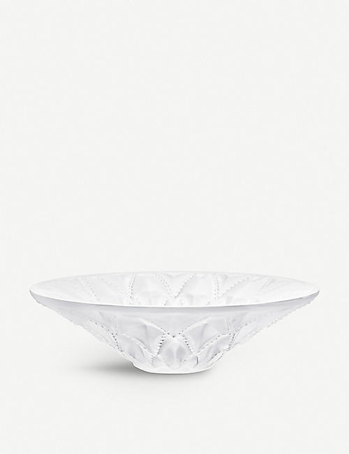 LALIQUE Languedoc medium crystal bowl