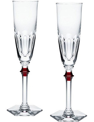 4c0d99ae0e6e BACCARAT - Masséna Coupe crystal champagne glasses set of two ...