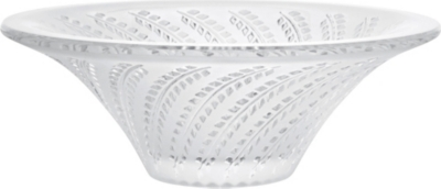 LALIQUE Small crystal Glycines bowl