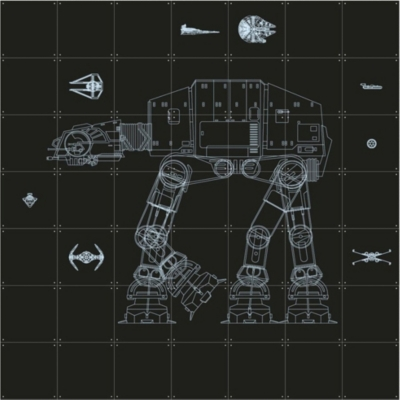 IXXI Star Wars Galaxy wall print