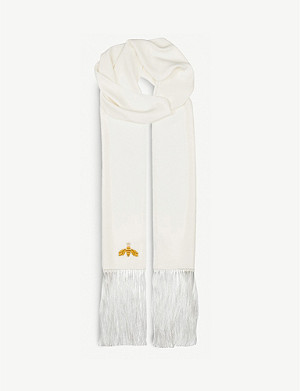 BEATRICE JENKINS Bee Lux silk scarf