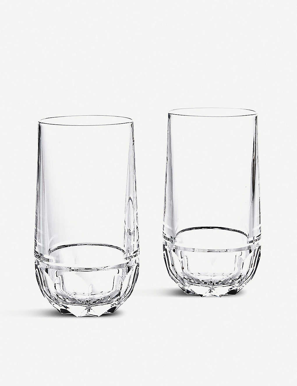 RALPH LAUREN HOME: Monroe crystal highball glasses set of two