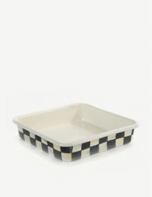 MACKENZIE CHILDS Courtly Check large baking pan 20x20cm