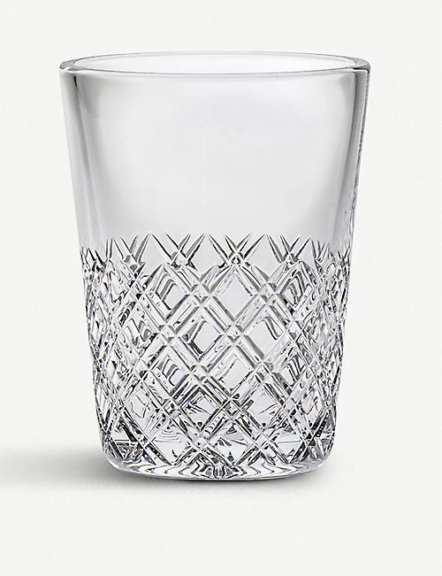 ROYAL SCOT CRYSTAL Tartan crystal ice bucket