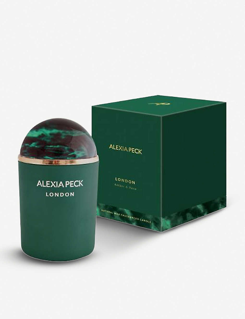 ALEXIA PECK: London scented candle with paperweight lid 220g