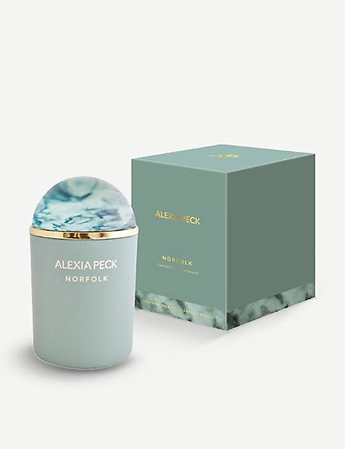 ALEXIA PECK Norfolk scented candle with paperweight lid