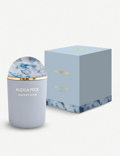 ALEXIA PECK Hamptons scented candle with paperweight lid