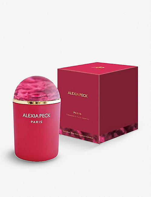 ALEXIA PECK Paris scented candle with paperweight lid 220g