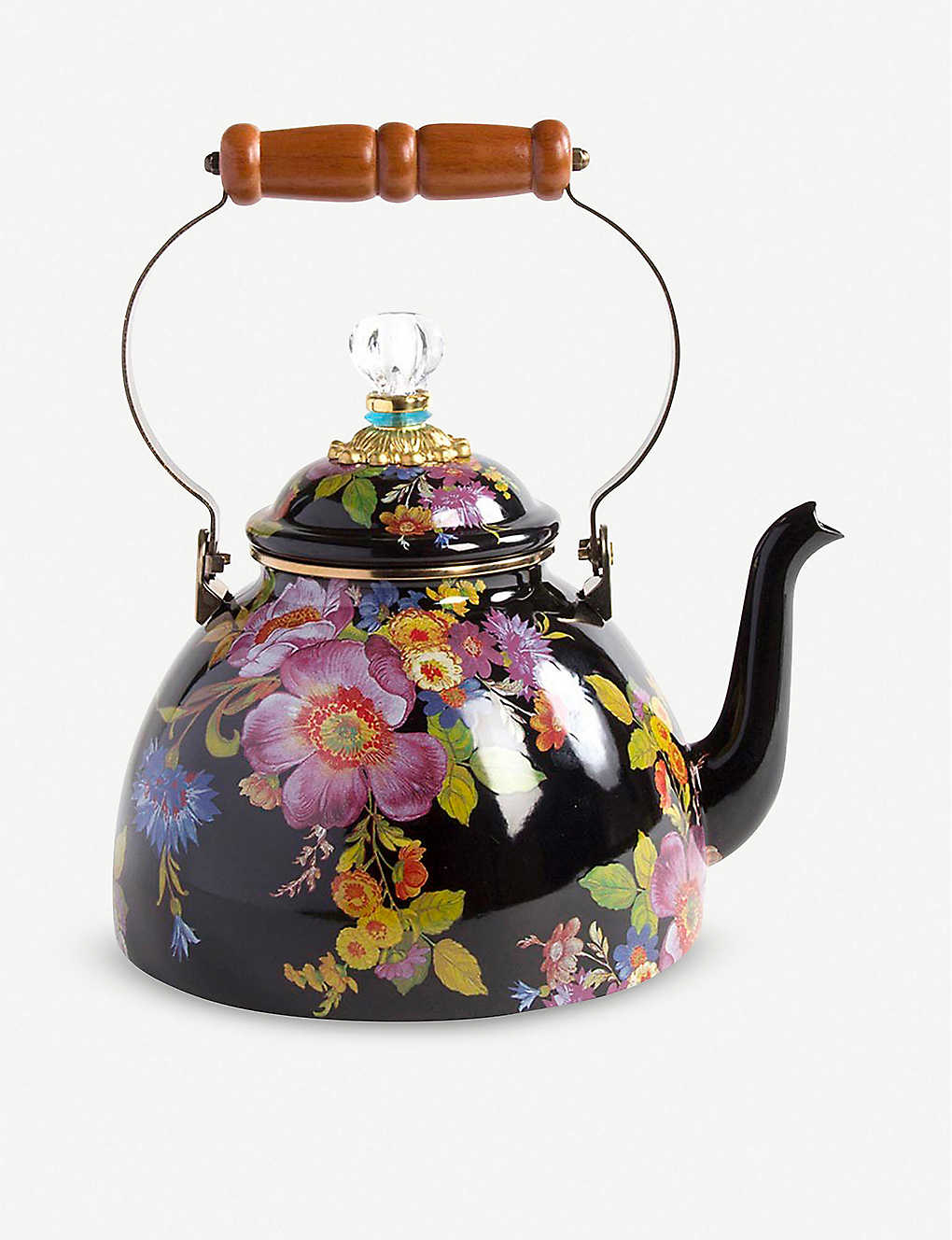 MACKENZIE CHILDS: Flower Market tea kettle 3.4l