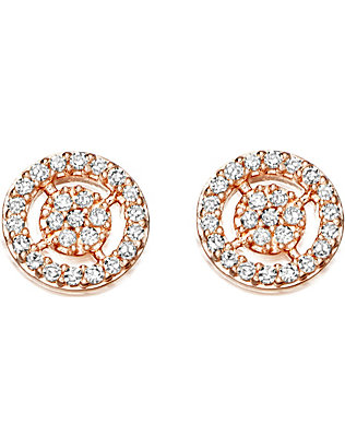 ASTLEY CLARKE: Mini icon aura stud earrings
