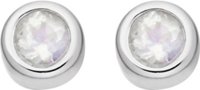 ASTLEY CLARKE Mini Stilla sterling silver stud earrings