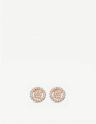 ASTLEY CLARKE: Mini icon aura drop earrings
