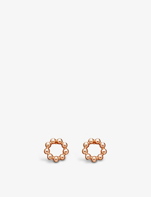 ASTLEY CLARKE Beaded Stilla stud earrings