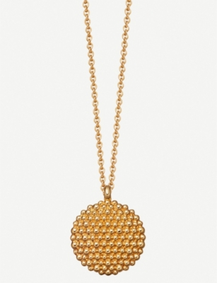 ASTLEY CLARKE Floris Mille 18ct yellow-gold vermeil necklace