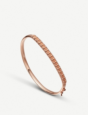 ASTLEY CLARKE Floris rose-gold vermeil sterling silver Mille Bangle