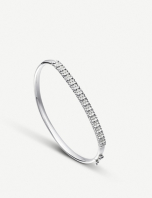 ASTLEY CLARKE Floris sterling silver Mille Bangle