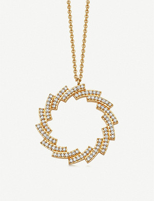 ASTLEY CLARKE G pave-set rose cut diamonds