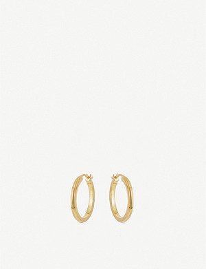ASTLEY CLARKE Linia 18ct-gold hoop earrings