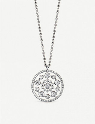 ASTLEY CLARKE: Icon Nova 14ct yellow-gold and diamond pendant