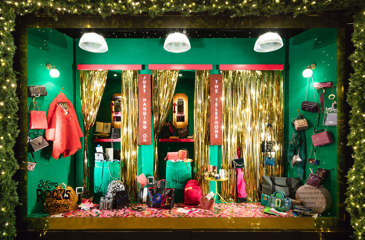 Christmas Window Displays.Our 2018 Oxford Street Christmas Windows