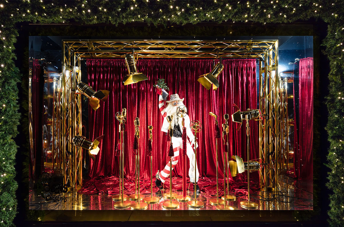 Christmas Window.Our 2018 Oxford Street Christmas Windows