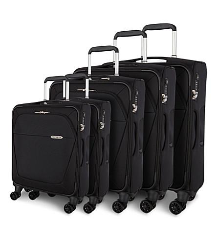 b lite 3 four wheel spinner suitcase range samsonite. Black Bedroom Furniture Sets. Home Design Ideas