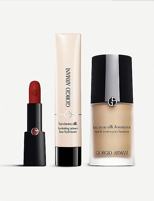 GIORGIO ARMANI Luminous Silk Bundle