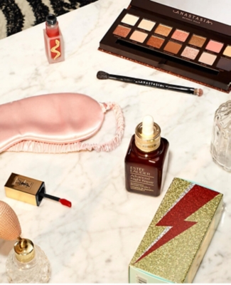 Selfridges beauty exclusives including Estee Lauder, YSL and Anastasia Beverly Hills