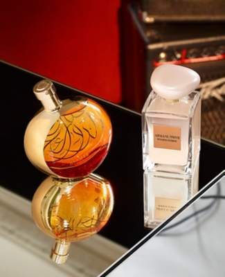 Hermes L'ambre des Merveilles and Giorgio Armani Pivione Suzhou exclusive fragrances