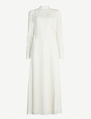 REFORMATION Adelia crepe maxi dress