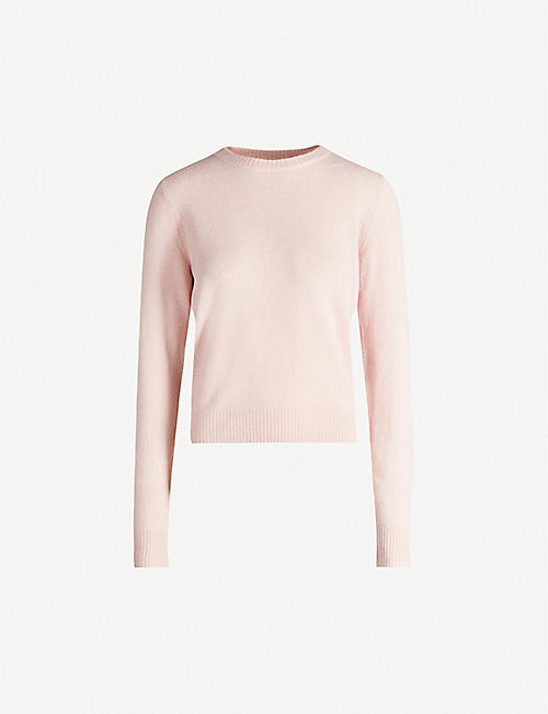REFORMATION Round-neck cashmere and wool-blend jumper