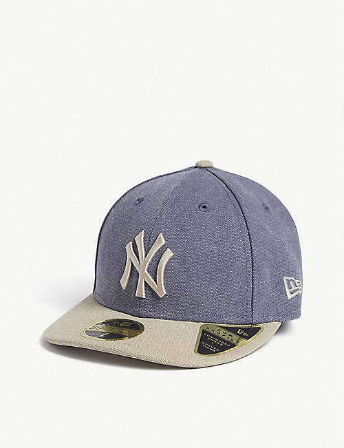 DANIEL ARSHAM Daniel Arsham x New Era 59fifty New York Yankees cotton baseball cap