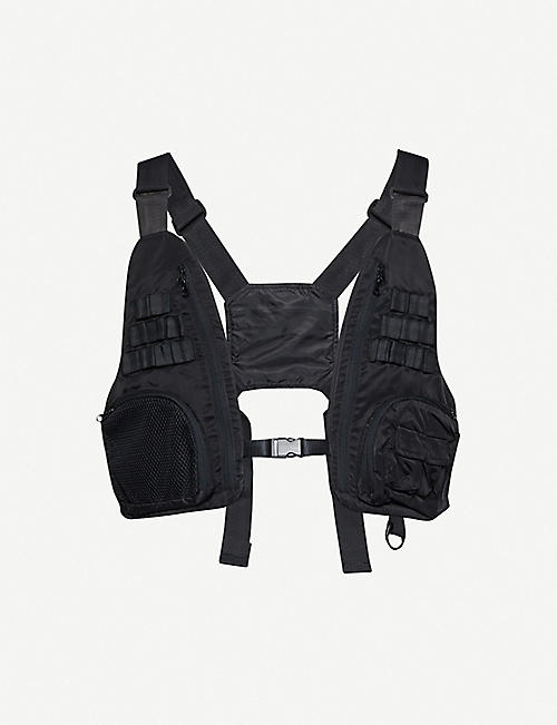 ZIQ & YONI Technical woven chest bag