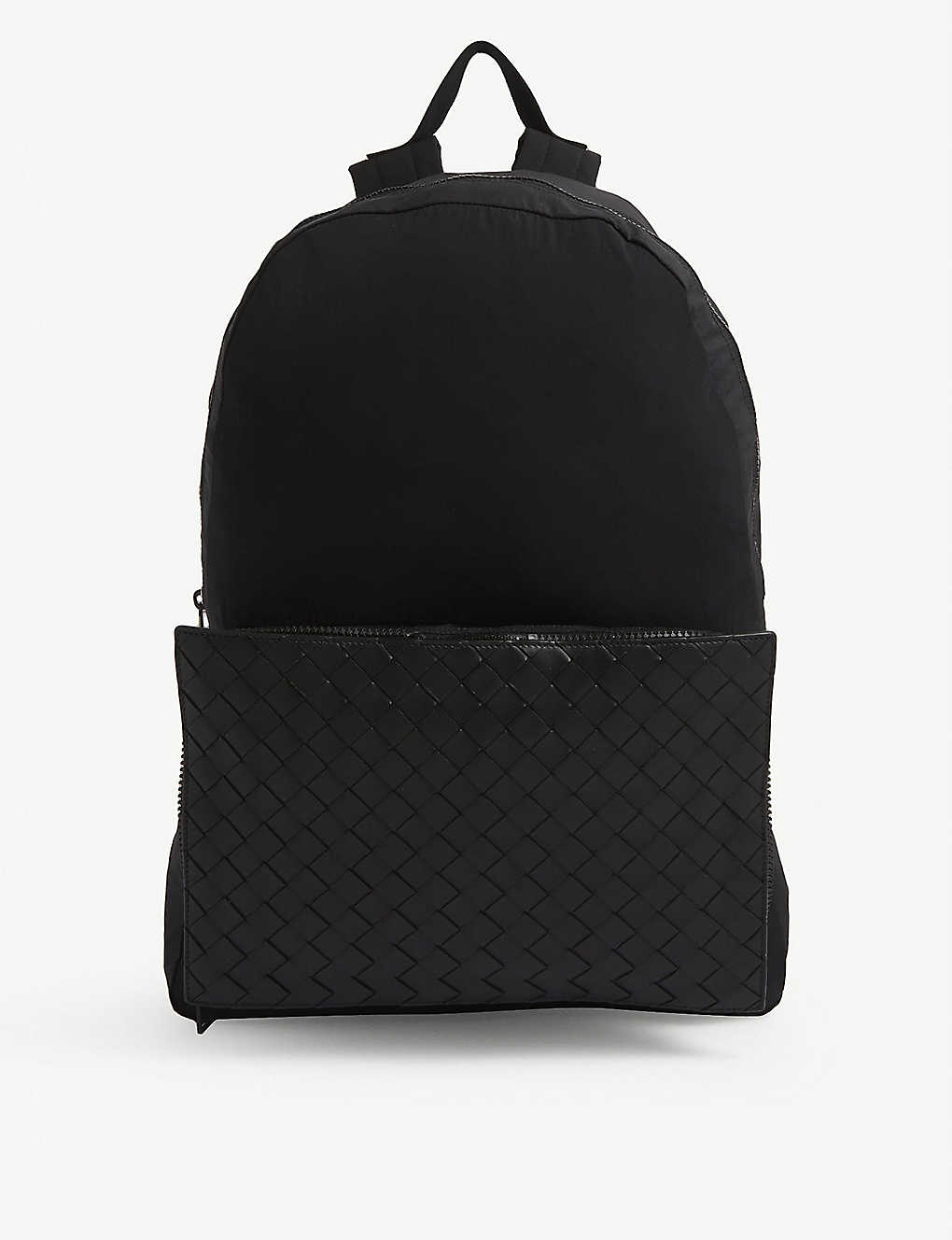 BOTTEGA VENETA: Leather backpack