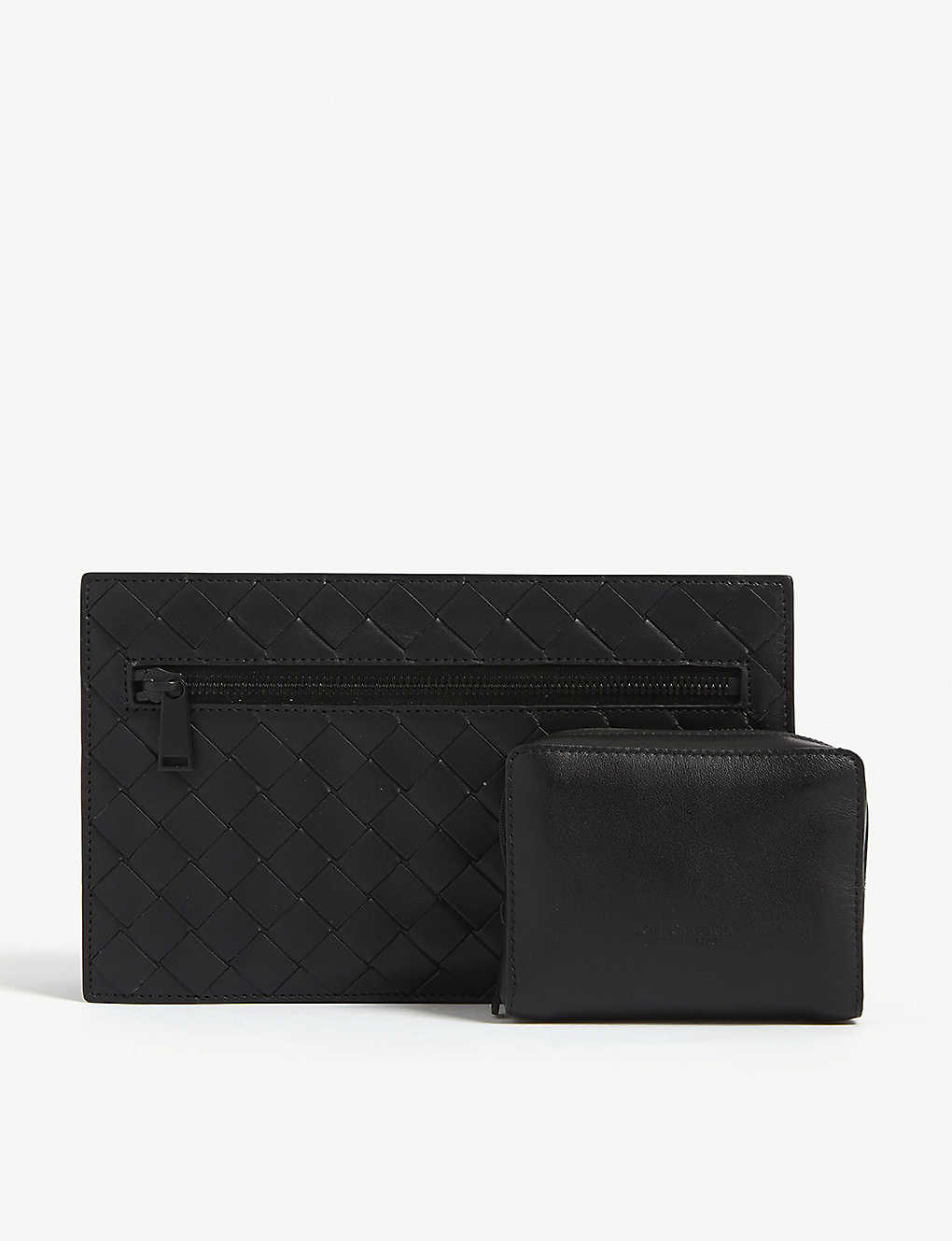 BOTTEGA VENETA: Intrecciato weave leather travel case