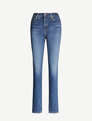 LEVI'S Levi's 724 straight high-waisted jeans