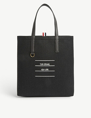 THOM BROWNE Mail envelope tote bag