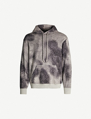 TWENTY Hyper Reality abstract-pattern knitted hoody