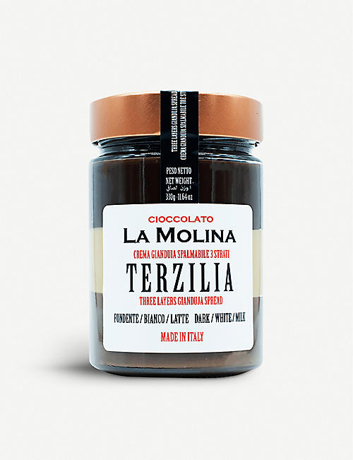 LA MOLINA: Terzilia gianduja chocolate spread 330g