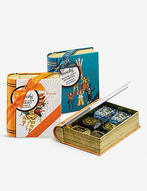 VENCHI: Horizon Mini Book Chocaviar chocolate gift box 115g