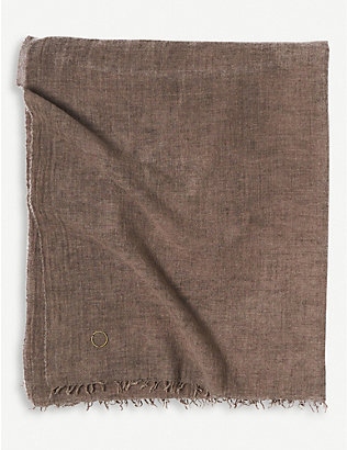 OYUNA: Ambra wool and cashmere throw 200x135cm