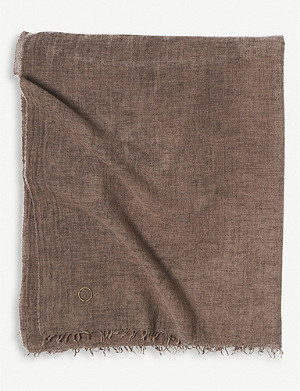 OYUNA Ambra wool and cashmere throw 200x135cm
