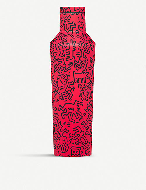 CORKCICLE Keith Haring x Corkcicle Street Art stainless steel canteen 475ml