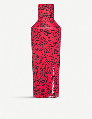 CORKCICLE: Keith Haring x Corkcicle Street Art stainless steel canteen 475ml