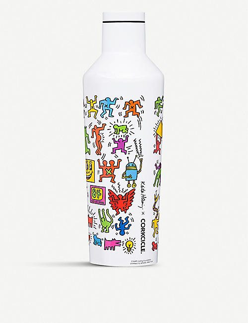 CORKCICLE: Keith Haring x Corkcicle Pop Party stainless-steel canteen 475ml