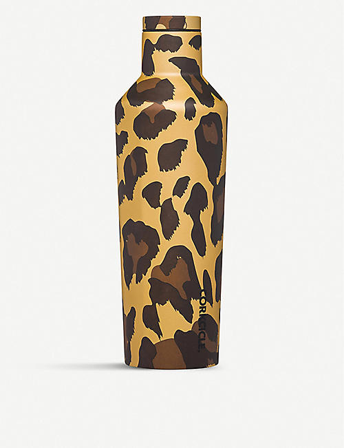 CORKCICLE Luxe Leopard stainless-steel canteen 450ml