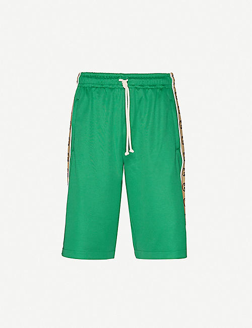 GUCCI: Guc Shorts Tech Jersey Rib