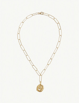 ALIGHIERI Ritual 24k gold-plated necklace